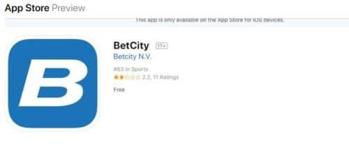 Betcity скачать app store